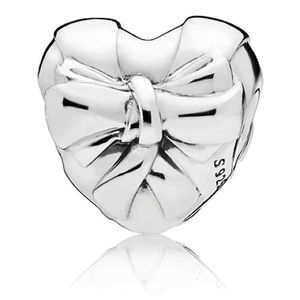 Pandora Brilliant Heart bow charm